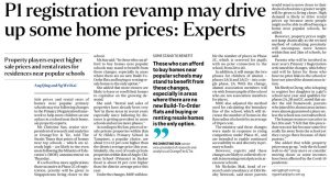 P1 registration revamp may drive up some home prices
